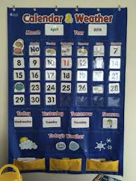 Calendar And Weather Pocket Chart Calendar And Weather Pocket Chart Calendar Bulletin Boards