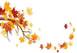 Fall Leaves Sunrise Backgrounds For Powerpoint Nature Ppt Templates