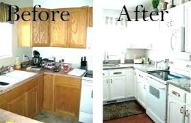 painting laminate kitchen cabinets before and after. Perfect Cabinets Diy Painting Laminate Kitchen Cabinets  On Painting Laminate Kitchen Cabinets Before And After T
