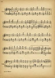 printable vintage sheet music cyclists march free vintage sheet music pages old design shop blog