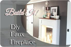 build your own fireplace insert faux fireplace feature 1 build fireplace insert