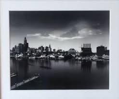 A. Aubrey Bodine Signed Baltimore City Harbor Skyline Photographic Print  1964 | eBay