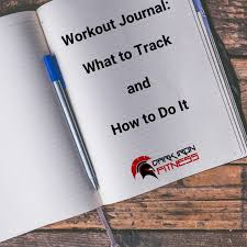 Work Out Journal Workout Journal What To Track And How To Do It Dark Iron