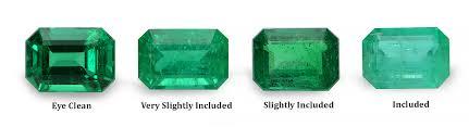 Emerald Clarity Chart Emeralds Com Emeralds Com