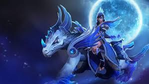 mirana and dagon scepter full moon loading screen dota 2 heroes