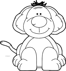 Dog Coloring Pages 051 Coloring For Kids 2019
