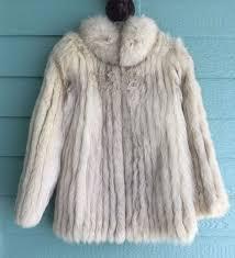 saga fox fabulous royal quality arctic blue fox fur coat extremely light wear