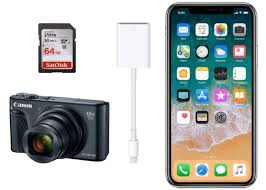 camera sd card to iphone