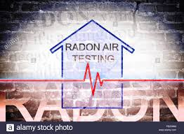 The Danger Of Radon Gas In Our Homes Concept Image With