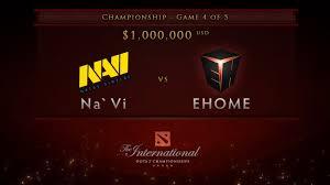ehome vs navi game 4 championship finals dota 2 international