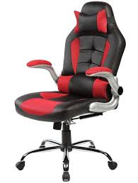 merax high back ergonomic pu leather racing chair executive office chair swivel chair reclining chair