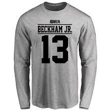 Long Ash Issued T-shirt Odell Beckham Jr Sleeve Player -