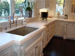 dupont edge sink cut out marble kitchen countertop
