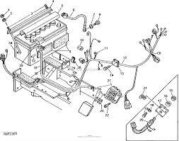 John deere parts diagrams john deere 950 tractor pc1876 battery