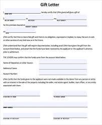 Donation Letter Samples Gift Letter Ohye Mcpgroup Co