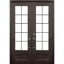 front door keyALLURE IRON DOORS  WINDOWS 72 in x 96 in Key Largo Dark Bronze