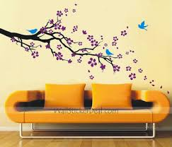 decorative wall sticker plum blossom with birds wall sticker wallstickerdeal decoration