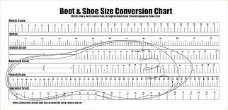 Shoe Width Chart Inches Printable Height Chart Inches To Feet Onourway Co