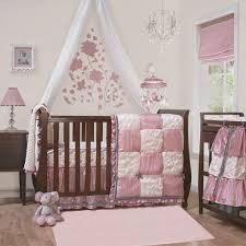 beautiful baby girl crib bedding sets applied to your home decor cute elephant baby girl