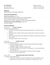 Special Education Teacher Resume Examples 2013 Of Resumes Ed Photo