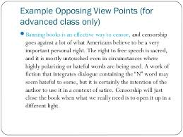 sample college opposing viewpoints essay the vegetarianism lifestyle can be adopted for many different reasons