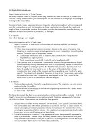 Breach Of Employment Contract Beauteous Illegal Contracts And Restraint Of Trade Clauses Oxbridge Notes