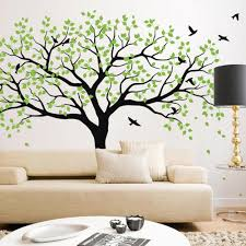 large woodland tree decal vinyl wall sticker on vinyl wall art uk with large woodland tree decal vinyl wall sticker www wallart uk