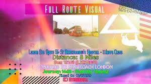 Route 56 Designs Full Route Visual London Bus Route 56 St Bartholomews Hospital Whipps Cross 12140 Lx61ddo