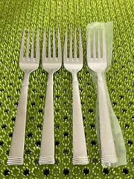 new 4 wallace napoli frost salad forks