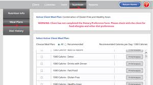 Meal Planning Software – Nutrition Maker Features