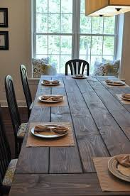 make your own farmhouse dining table must discuss with the hubby