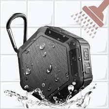 Mini Duş bluetooth hoparlör 5 Watt, 5 saat Çalışma Süresi, Yüksek Sesle HD  Ses, Zengin Geliştirilmiş Bas, açık Spor IPX5 Su Geçirmez,  Taşınabilir|Portable Speakers