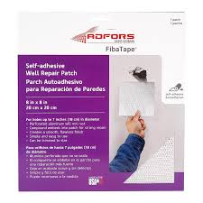 fibatape drywall repair patch 8 in x 8 in drywall repair patch