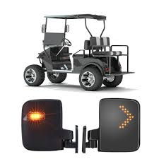 Lights Wont Work On Club Car Golf Cart Kemimoto Golf Cart Side View Mirrors Set With Led Running Light Reaview Mirror For Ezgo Yamaha Club Car Star Zone