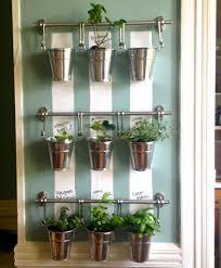 picture of hanging indoor herb garden