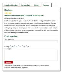 thompson morgan reviews how to write a review on thompson morgan products