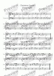The color coded easy christmas violin sheet music songs below are provided for the use and enjoyment of our visitors. Six Christmas Carols Violin Cello Duets Download Sheet Music Pdf
