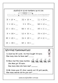 Add on 10 - Jump Strategy, Mathematics skills online, interactive ...