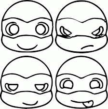 Small Picture Easy Teenage Mutant Ninja Turtle Coloring Pages Coloring Home