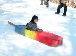 Cardboard Box Sled Design Cardboard Sled Racing Ice Fishing Tournament In Central