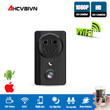 <b>AHCVBIVN H</b>.264 HD 1080P Wifi IP Camera USB Wall Socket ...
