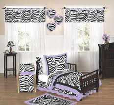 shocking purple zebra print toddler girl bedding set pc bed in a bag pict for crib trends and concept