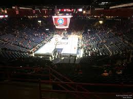 Arizona Mckale Center Seating Chart Mckale Center Section 107 Rateyourseats Com