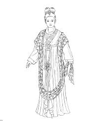 Small Picture Start Coloring Page Of History Coloring Page Of Chinese Clothing