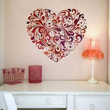 heart design wall art on wall art heart designs with heart design wall art at rs 200 square feet wall art id