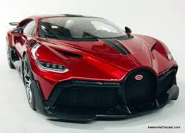 Another exclusive delivery for miller motorcars! Burago 1 18 2018 Bugatti Divo Metallic Red Carbon Fiber