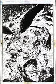 Guy Gardner: Warrior # 32 - Mark Campos, in John Scarpone's Various Artwork  Comic Art Gallery Room