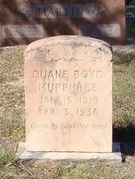 Duane Boyd Murphree (1919-1936) - Find A Grave Memorial