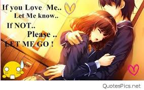 Anime Love Quotes Adorable Animelovequotes Quotes Pics