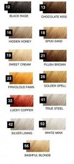 Roux Fanci Full Color Styling Mousse Color Chart Www
